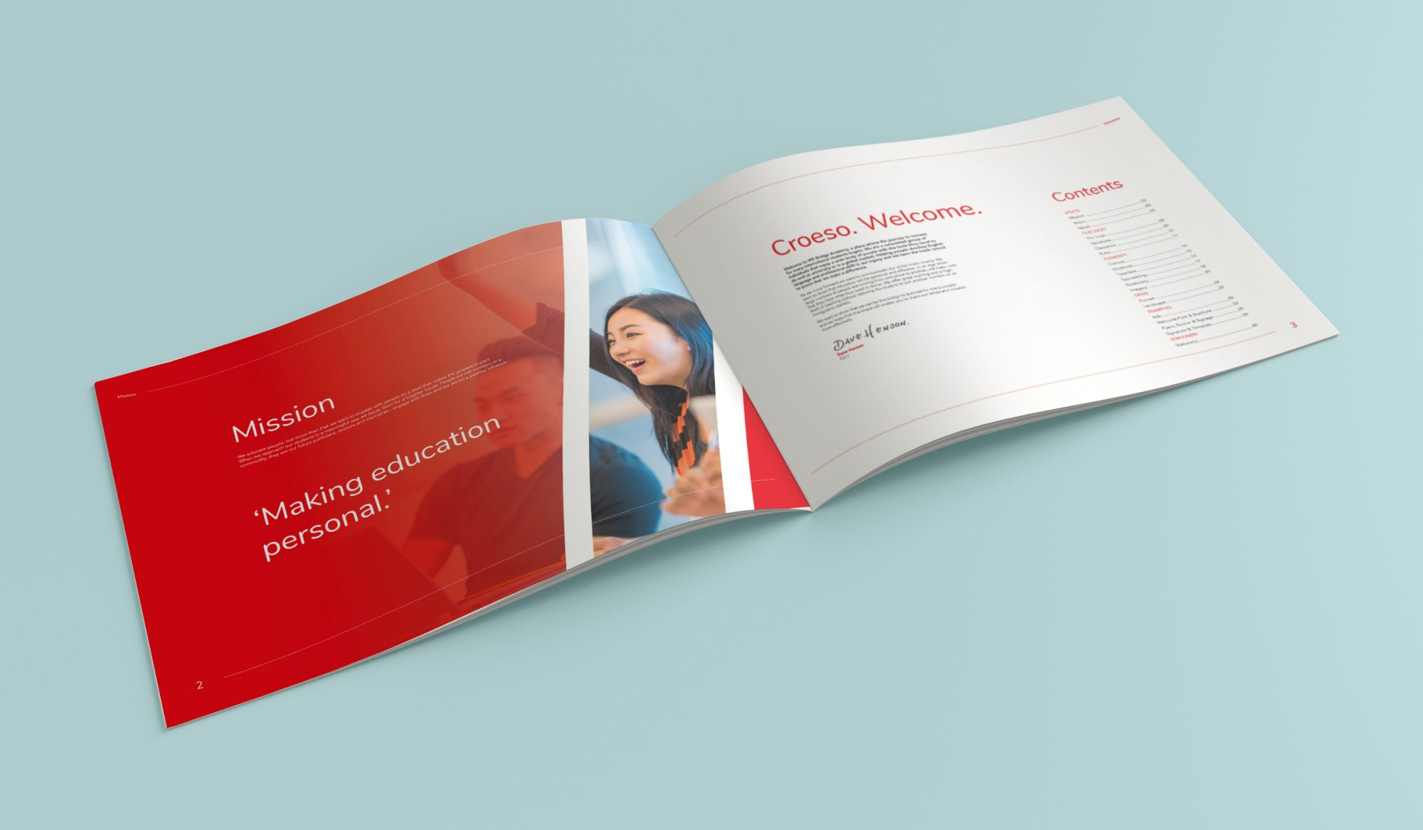 We Bridge Brand Book Mockup 02 - Get the Right Results This August