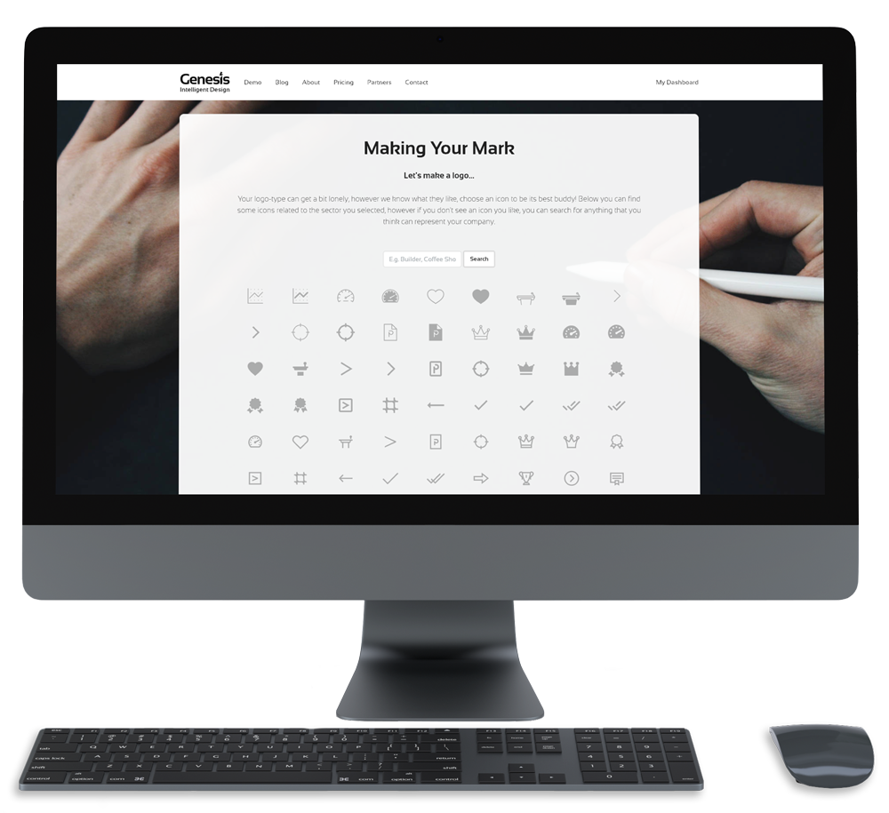 genesis mockup 1 - Helping Businesses at Every Level…